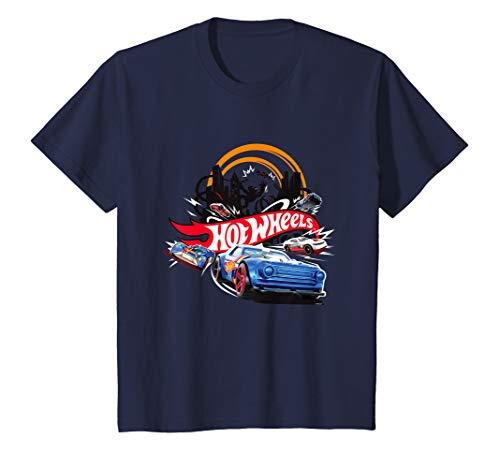 Kinder Hot Wheels T-Shirt, Jungs, City, viele Größen+Farben