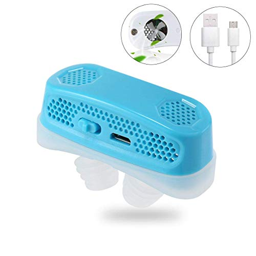3 in 1 Anti Snoring Devices,Sleeping Breath Aids[New Version]Natural Solution to Prevent Snoring and Purify Breath air PM2.5 Filter for Ease Breathing Comfortable Sleeping