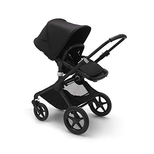 Bugaboo Fox 2 Complete Full-Size All-Terrain Stroller, The Most Advanced Comfort Stroller - Black/Black