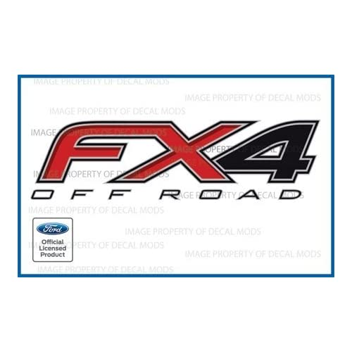 1997-2012 Ford Ranger FX4 Off Road Decals F stickers truck bed graphics