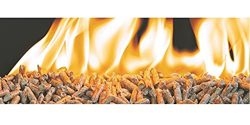 Children's Beds Home - Pellets de madera - 15 kg Sin aglutinantes 100% natural para arena de gatos, estufas, calefacción
