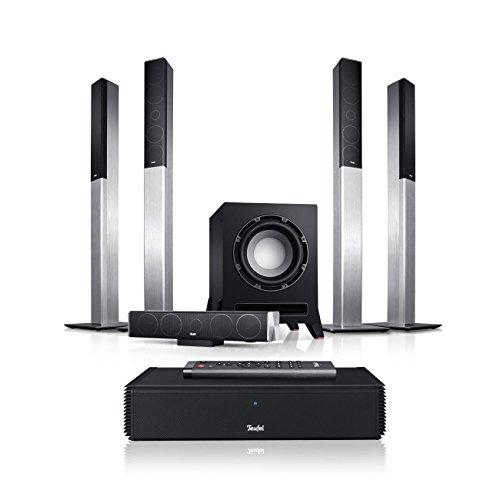 Teufel LT 4 Complete 5.1-Set L Silber Heimkino Lautsprecher 5.1 Soundanlage Kino Raumklang Surround Subwoofer Movie High-End HiFi Speaker