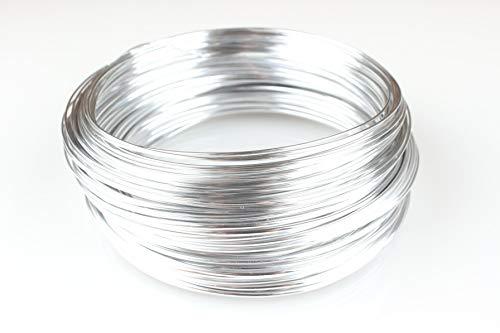 Creacraft Fil Aluminium pour Perlage et Bijoux (2mm, 20)