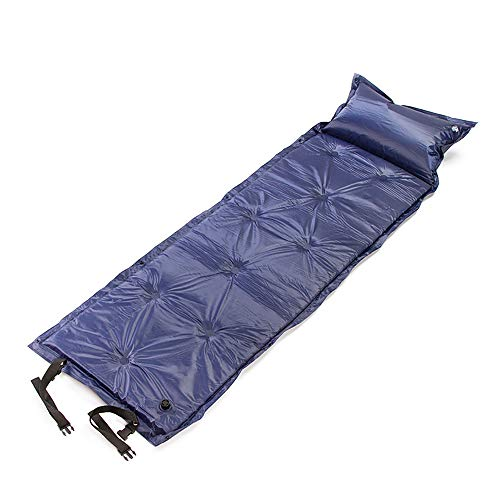 UG1 Sleeping Pad, Sleep Memory Foam Floor Mattress, Automatic Inflation Lightweight, Outdoor Sleep Comfort Best for Camping And Hiking (Deep Blue)