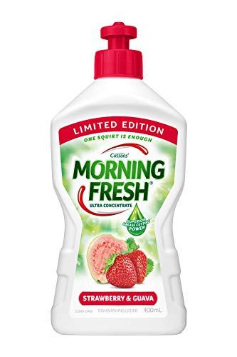 Morning Fresh Strawberry and Guava Dishwashing Liquid, Strawberry and Guava 400 milliliters