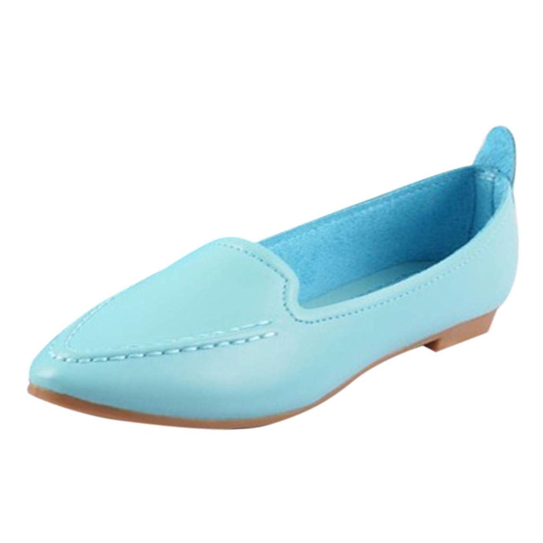 同化するストレス道徳教育Feteso フラットシューズ レディース カジュアル シンプル 軽量 美脚 歩きやすい 春夏秋 持ち運び 通勤 通学 旅行 Ladies Fashion Shoes
