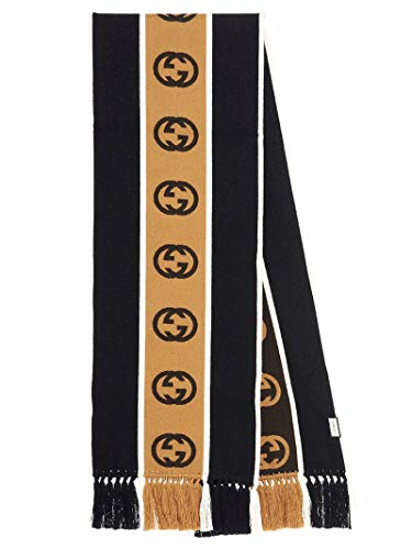 Gucci Luxury Fashion Herren 5756054G1841000 Schwarz Schal | Frühling Sommer 20