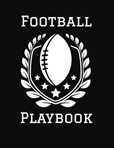 Football Playbook: 2020-2021 Coaching Notebook, Blank Field Pages, Calendar, Game Statistics, Rost