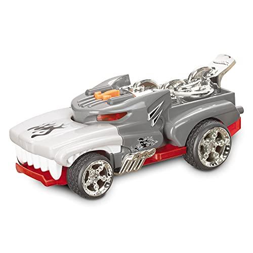 Mondo Motors - Hot Wheels Monster Action Monster Action HOTWEILER - macchina a frizione per bambini - luci e suoni - 51221