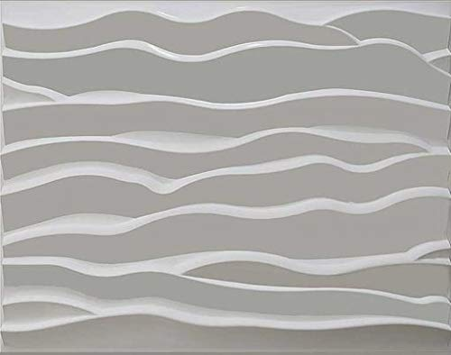 Natural Bamboo 3D Wall Panel Decorative Wall Ceiling Tiles Cladding Wallpaper - Dune 3D 1 m² (1m²)