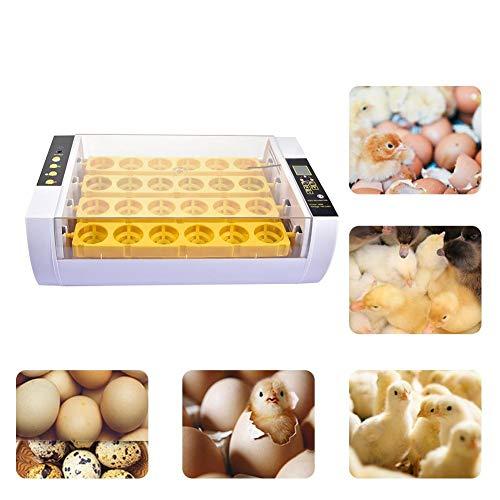 Janny-shop Incubadora de Huevos Incubadora Automática Completa 24PCS Pato...