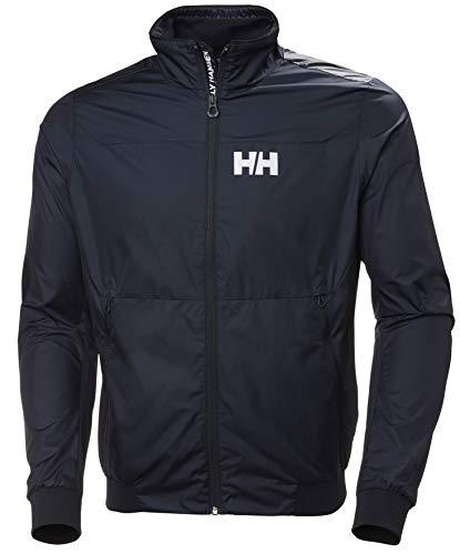 Helly Hansen Crew Windbreaker Jacket, Hombre, Navy, XL