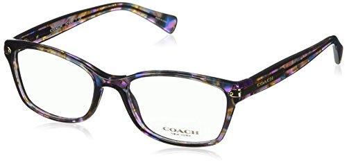 Eyeglasses Coach HC 6065 5288 CONFETTI PURPLE, 51-17-135