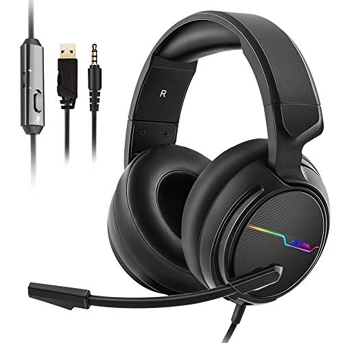 Jeecoo Xiberia Stereo Gaming Headset for PS4 PS5 Xbox One