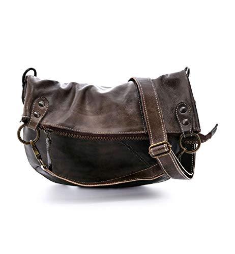Bed|Stu Women's Tahiti Leather Bag (Taupe Rustic)