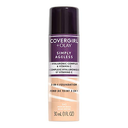 Price comparison product image Covergirl & Olay Simply Ageless 3-in-1 Liquid Foundation,  Medium Beige