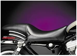 Le Pera Bare Bones Leather Pillion Pad for Harley Davidson 1984-2007 Softail mo - HD FLSTS/I Heritage Springer 2000-2003