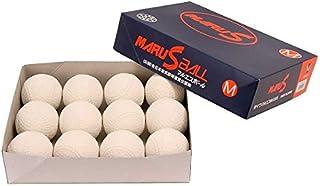 ダイワマルエス 軟式ボールM号 (軟式公認球) 1ダース12球入り MARUS-M-1