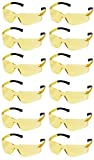 Pyramex Ztek Safety Glasses Amber Lens S2530S (12 Pair Pack)