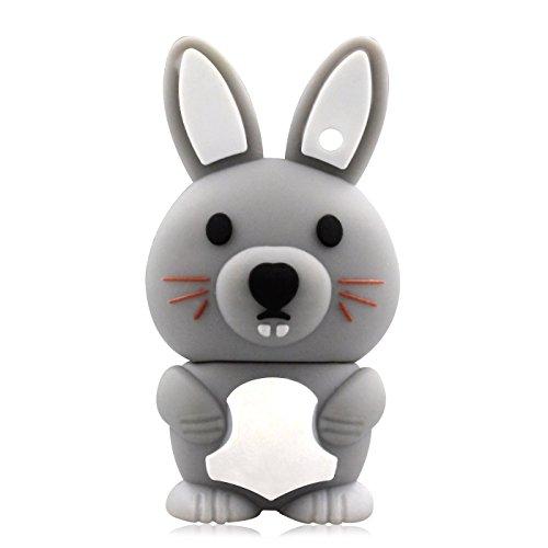 818-Shop No36500050038 Hi-Speed (USB 3.0 8GB) Speichersticks Vetter Hase 3D Grau