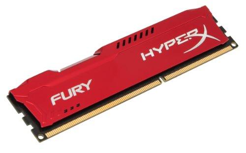 HX318C10FR8 - Memória HyperX Fury de 8GB DIMM DDR3 1866Mhz 1,5V para desktop