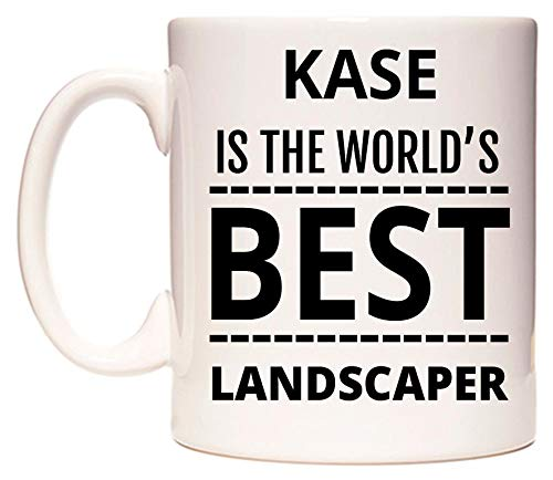 KASE Is The Worlds BEST Landscaper Tazza di WeDoMugs®