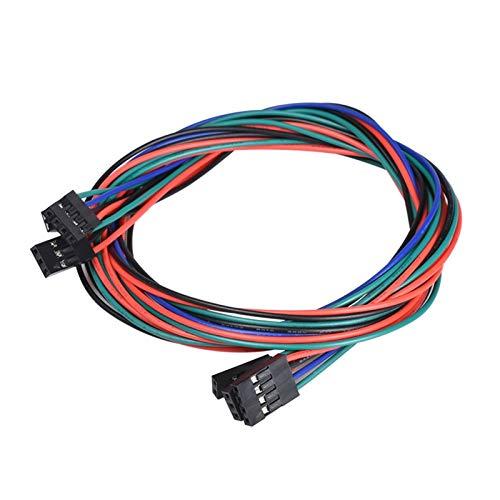 Einfach 70cm weibliche zu weiblichen Jumper-Draht mit Dupont für 2-Pin-4-Pin-Kabel für 3D-Drucker-Teil zerlegen (Size : 3pin)