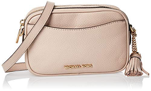 TheMICHAEL Michael Kors convertible belt bag is an ultra-versatile and compact accessory, perfect for everyday wear. Crafted in genuine pebbled leather, this luxe bag features a zip fastening, logo detail and gold-tone hardware, while a slender stra...