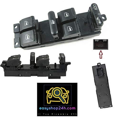 Botón elevalunas para VW Golf 4 Bora Passat Leon Toledo Interruptor teclado cristales eléctricos