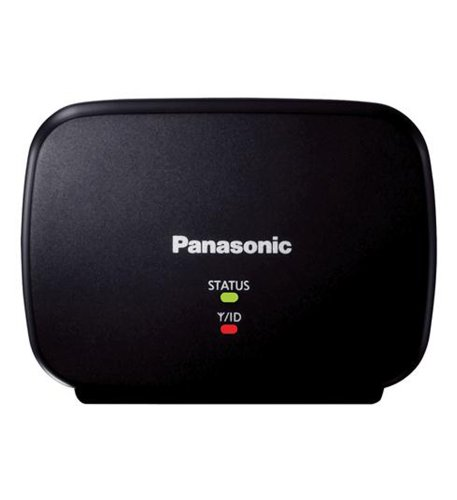 Panasonic Range Extender for Dect 6.0 Plus Models KX-TGA405B Doubles The Effective Transmission Distance with 1 Year Manufacturer's Warranty- Black