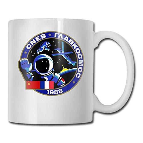 Tasse à café Soyouz TM cadeau pour enfants femmes hommes garçons filles blanc tasse à thé en céramique café tasse 11 oz