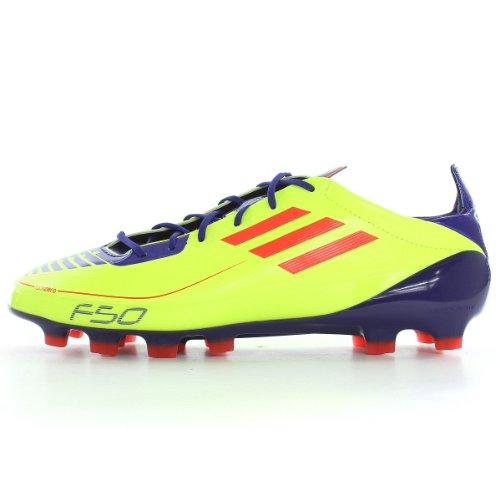 Adidas F50 Adizero TRX HG G40344, calcio da uomo, Uomo, giallo, 46 EU