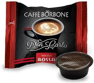 - Caffè Borbone - Don Carlo. 600 cápsulas de café (mezcla roja), compatibles con máquinas Lavazza A Modo Mio