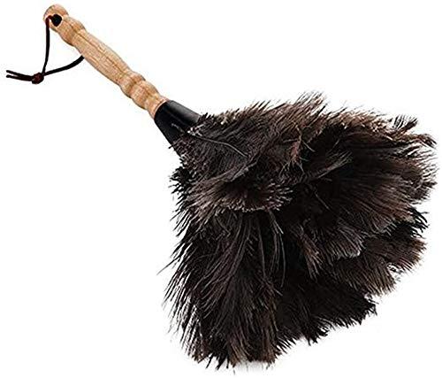 Nicole - Piumino per spolverare con piume di struzzo, 38 cm
