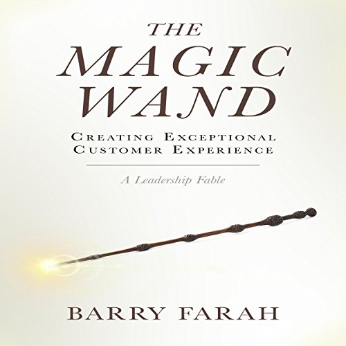 The Magic Wand: Creating Exceptional Customer Experience audiobook cover art