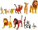 Le Rey Leon – Classic– Disney Le Rey Leon – Estuche con 10 Figuras de Disney LNN08000...