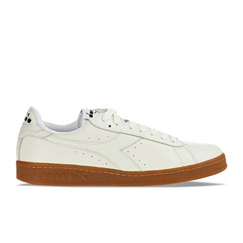 Diadora Scarpa Sneaker Uomo Bianco Art. 501.160821 01 20006 Game L Low Waxed 38 EU - 5,5 USA - 5 UK Bianco - White