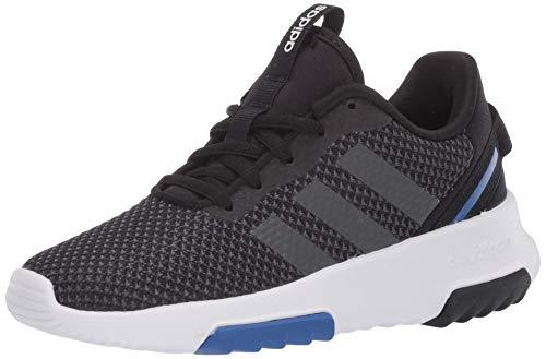 adidas Racer TR 2.0 Running Shoe, Black/Grey/Royal, 2 US Unisex Little Kid
