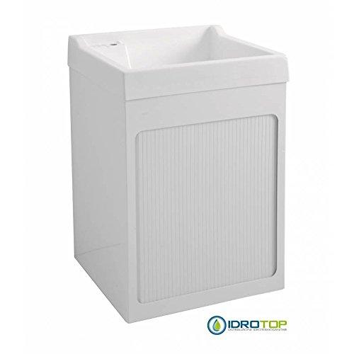 Rabatt 32% - Mueble exterior con fregadero y caja 72x68, lavabos ABS metacrilato, interruptor lateral, color blanco: Amazon.es: Hogar