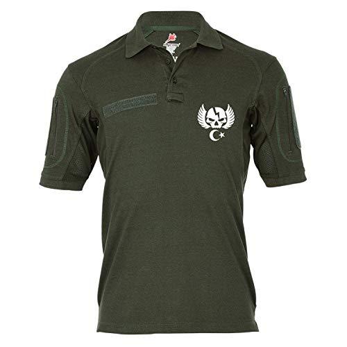 Copytec Copytec Tactical Poloshirt Alfa - Özel Kurvvetleri Türkei Spezialeinheit Armee #19144, Größe:S, Farbe:Oliv