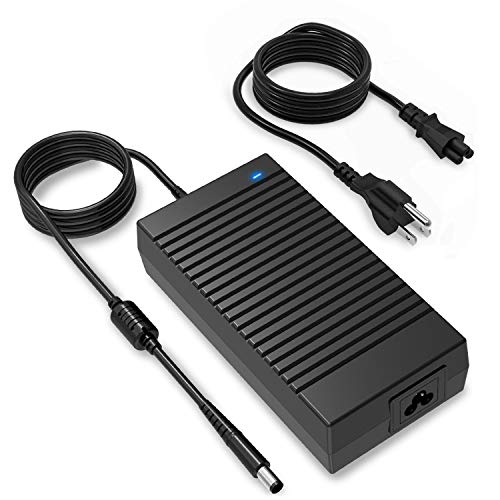 Alienware Laptop Charger Compatible with Dell, 185W 180W Power Adapter for Dell Alienware 13 14 15 17 R1 R2 R3 R4/ Dell Gaming G3 G5 G7/ m14x m15x m17x/ Precision M4600/M4700/M4800/M6300/M6600/M6700