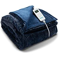 Bedsure Electric Throw Blanket with 6 Heat Settings