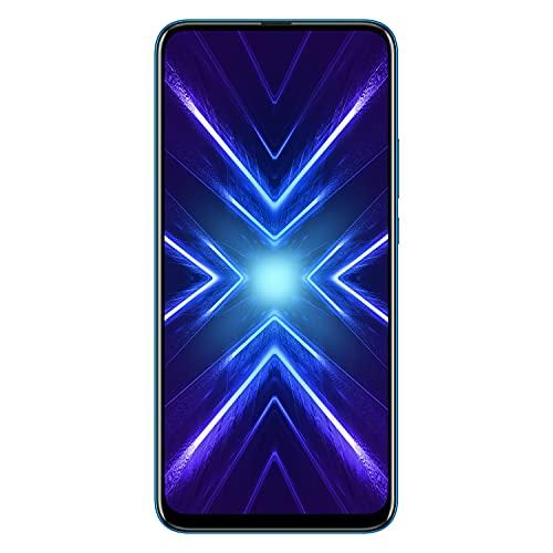 Honor 9X Smartphone, 4 GB RAM, Memoria 128 GB, Display 6.59' Full HD+, Tripla Fotocamera Posteriore 48+8+2 MP, Fotocamera Anteriore 16 MP a Comparsa Automatica, Blu [Italia]