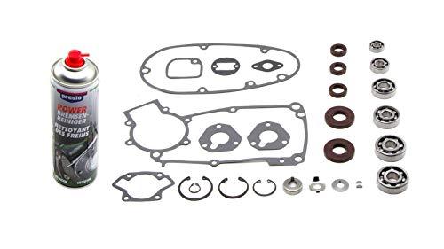 Lagersatz: Wellendichtringe, Kugellager, Dichtungssatz passend für Simson* S50 plus Motorenreigiger