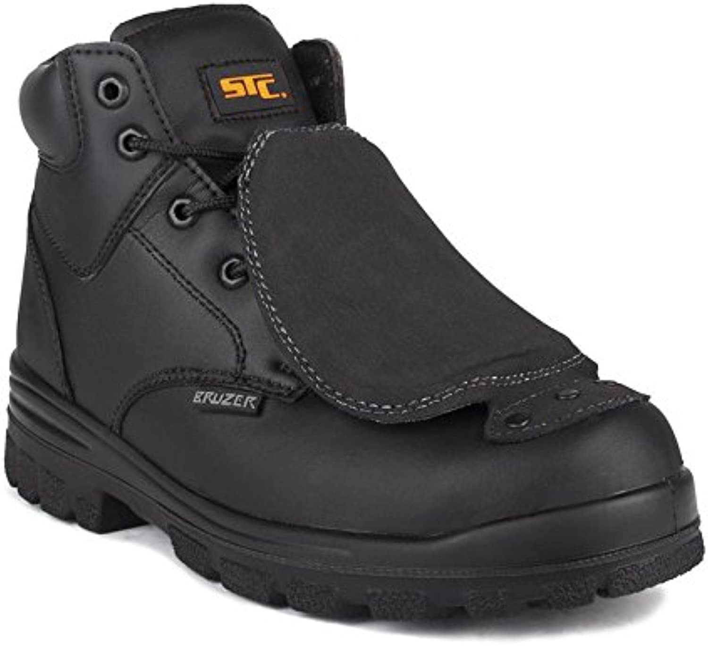 STC Press Men's Work Boot, Black