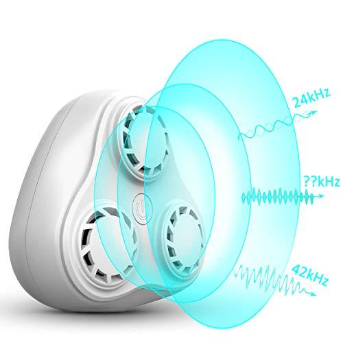 Goldenguy Ultrasonic Pest Repeller Electronic Plug in Indoor Pest Repellent, Pest Control-3 Speakers