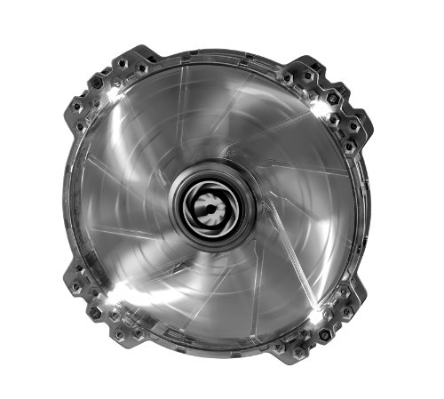 BitFenix Spectre Pro Lüfter (200mm LED-weiß) schwarz