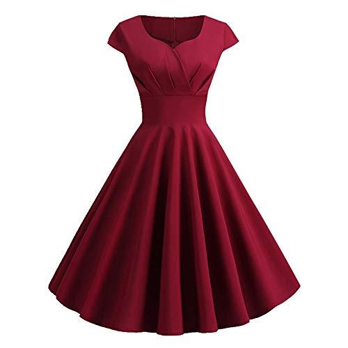 N\P Vestido de verano para mujer, vestido de primavera y verano