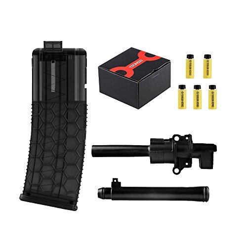 Worker Mod 50pcs 36mm Darts Magazines Clip Upgrade Tube Kit for Nerf Retaliator Color Black