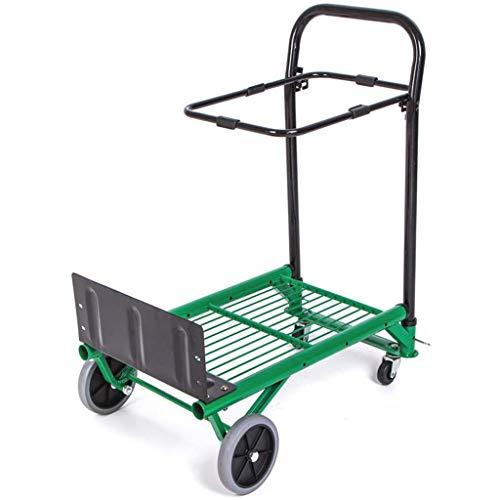 gujiu Carrito Carrito de la Plataforma Plegable de la Plataforma de la Plataforma de la Plataforma de la Plataforma de la Carretilla del jardín, la Capacidad de la Mano de 90 kg de 90 kg